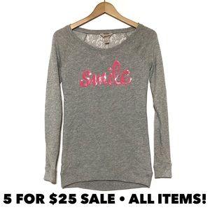 Arizona Smile Lace-Back Sweatshirt